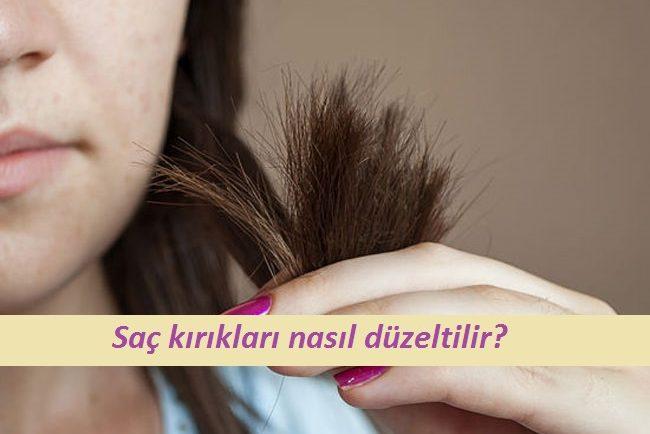 saç kırıklarınızdan kurtulun