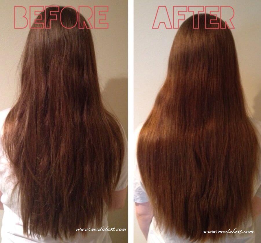 sirke ile saç rengi açma
