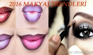 2016 baharının makyaj trendleri