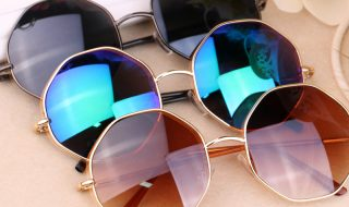 Altıgen güneş gözlüğü modası