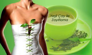 yeşil çay ile zayıflama şok